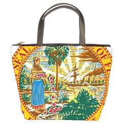 Great Seal Of Florida  Bucket Bag by abbeyz71