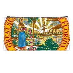 Great Seal Of Florida  Pencil Cases by abbeyz71