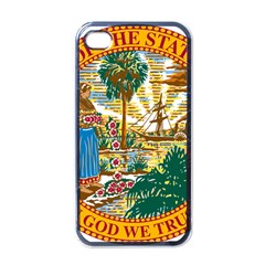 Great Seal Of Florida  Apple Iphone 4 Case (black) by abbeyz71