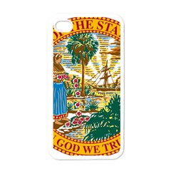 Great Seal Of Florida  Apple Iphone 4 Case (white) by abbeyz71