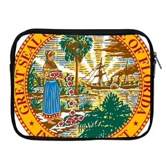 Great Seal Of Florida  Apple Ipad 2/3/4 Zipper Cases by abbeyz71
