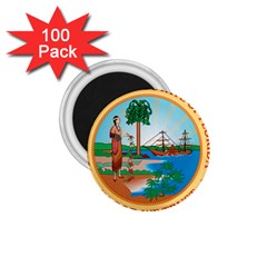 Great Seal Of Florida, 1900 1985 1 75  Magnets (100 Pack)  by abbeyz71