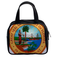 Great Seal Of Florida, 1900 1985 Classic Handbag (two Sides) by abbeyz71