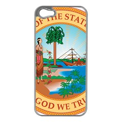 Great Seal Of Florida, 1900 1985 Apple Iphone 5 Case (silver) by abbeyz71