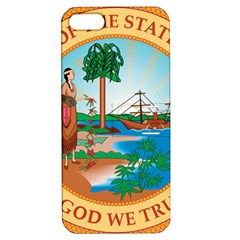 Great Seal Of Florida, 1900 1985 Apple Iphone 5 Hardshell Case With Stand by abbeyz71