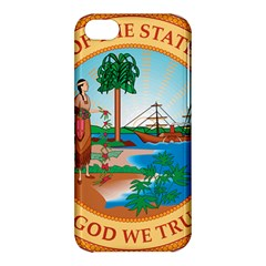 Great Seal Of Florida, 1900 1985 Apple Iphone 5c Hardshell Case by abbeyz71