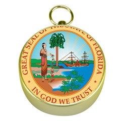 Great Seal Of Florida, 1900 1985 Gold Compasses by abbeyz71
