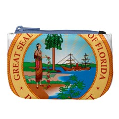 Great Seal Of Florida, 1900 1985 Large Coin Purse by abbeyz71