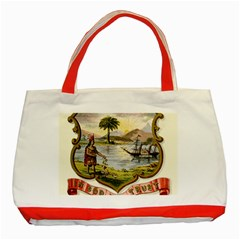 Historical Florida Coat Of Arms Classic Tote Bag (red) by abbeyz71
