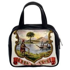 Historical Florida Coat Of Arms Classic Handbag (two Sides) by abbeyz71