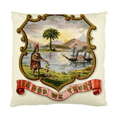 Historical Florida Coat Of Arms Standard Cushion Case (one Side) by abbeyz71