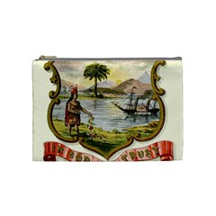 Historical Florida Coat Of Arms Cosmetic Bag (medium) by abbeyz71