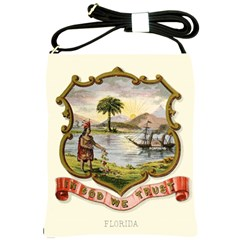 Historical Florida Coat Of Arms Shoulder Sling Bag by abbeyz71