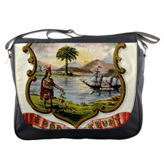 Historical Florida Coat Of Arms Messenger Bag by abbeyz71
