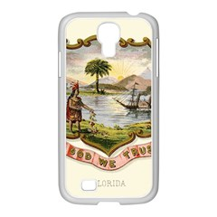 Historical Florida Coat Of Arms Samsung Galaxy S4 I9500/ I9505 Case (white) by abbeyz71