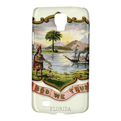 Historical Florida Coat Of Arms Samsung Galaxy S4 Active (i9295) Hardshell Case by abbeyz71