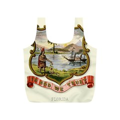 Historical Florida Coat Of Arms Full Print Recycle Bag (s) by abbeyz71