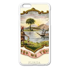 Historical Florida Coat Of Arms Apple Iphone 6 Plus/6s Plus Enamel White Case by abbeyz71