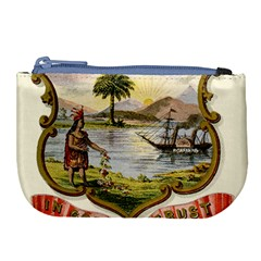 Historical Florida Coat Of Arms Large Coin Purse by abbeyz71