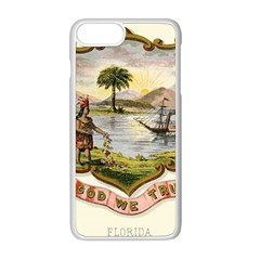 Historical Florida Coat Of Arms Apple Iphone 8 Plus Seamless Case (white) by abbeyz71