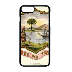 Historical Florida Coat Of Arms Apple Iphone 8 Plus Seamless Case (black) by abbeyz71