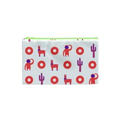 Phish Phans Lama, Sloth, Cactus, Donut Cosmetic Bag (xs) by 2799018
