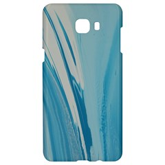 Blue Swirl Samsung C9 Pro Hardshell Case  by WILLBIRDWELL