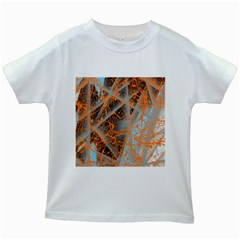 String Theory Kids White T Shirts by WILLBIRDWELL