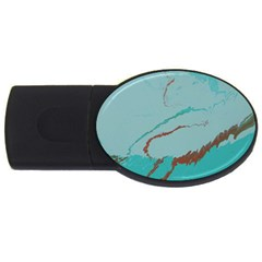 Copper Pond 2 Usb Flash Drive Oval (4 Gb) by WILLBIRDWELL