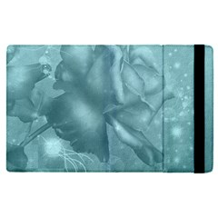 Wonderful Blue Soft Roses Ipad Mini 4 by FantasyWorld7