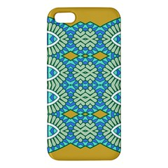 Green Blue Shapes                                      Samsung Galaxy Note 3 Leather Folio Case by LalyLauraFLM