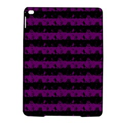 Zombie Purple And Black Halloween Nightmare Stripes  Ipad Air 2 Hardshell Cases by PodArtist
