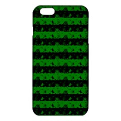 Alien Green And Black Halloween Nightmare Stripes  Iphone 6 Plus/6s Plus Tpu Case by PodArtist