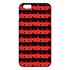 Donated Kidney Pink And Black Halloween Nightmare Stripes  Iphone 6 Plus/6s Plus Tpu Case by PodArtist