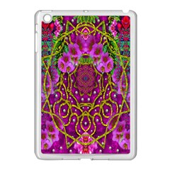 Star Of Freedom Ornate Rainfall In The Tropical Rainforest Apple Ipad Mini Case (white) by pepitasart