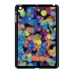 Paint Brushes On A Black Background                                        Apple Ipad Mini Hardshell Case by LalyLauraFLM
