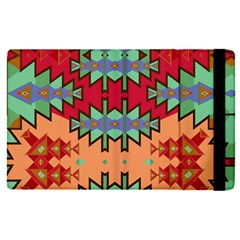Misc Tribal Shapes                                          Apple Ipad Mini 4 Flip Case by LalyLauraFLM