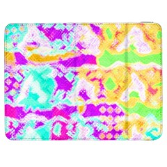 Pink Yellow Blue Green Texture                                           Htc One M7 Hardshell Case by LalyLauraFLM