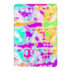 Pink Yellow Blue Green Texture                                           Nokia Lumia 1520 Hardshell Case by LalyLauraFLM