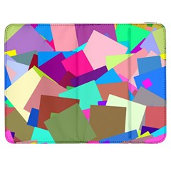 Colorful Squares                                            Htc One M7 Hardshell Case by LalyLauraFLM