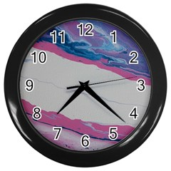 Sorrow 2 Wall Clock (black) by WILLBIRDWELL