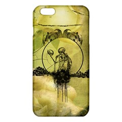 Awesome Creepy Skeleton With Skull Iphone 6 Plus/6s Plus Tpu Case by FantasyWorld7