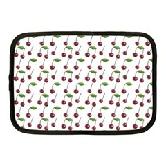 Musical Cherries Pattern Netbook Case (medium) by emilyzragz