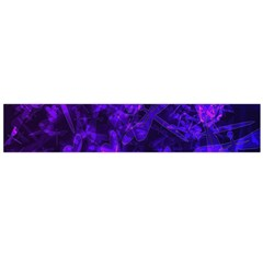 Purple Bokeh Light Dragonflies Large Flano Scarf  by bloomingvinedesign