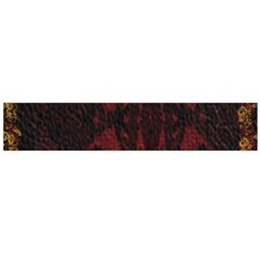 Black Lace Burgundy Design By Flipstylez Designs Large Flano Scarf