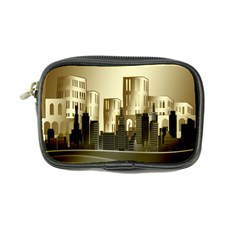 Architecture City House Coin Purse