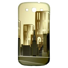 Architecture City House Samsung Galaxy S3 S Iii Classic Hardshell Back Case by Samandel