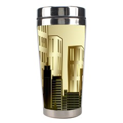 Architecture City House Stainless Steel Travel Tumblers