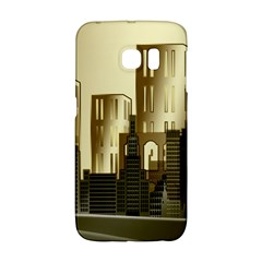 Architecture City House Samsung Galaxy S6 Edge Hardshell Case
