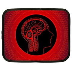 Artificial Intelligence Brain Think Netbook Case (large)
